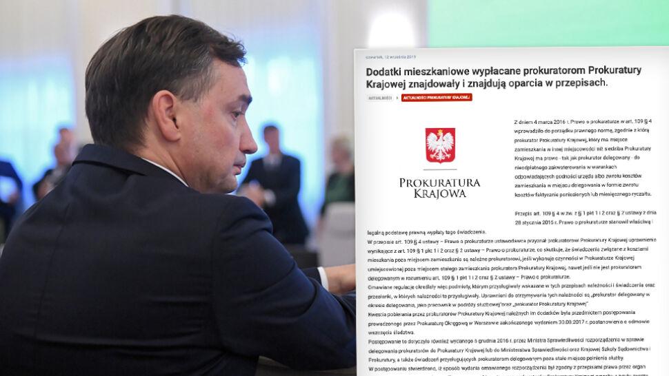 Prokuratura Krajowa odpowiada na zawiadomienie złożone do premiera