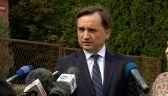 Ziobro: poleciłem natychmiast zbadać działania prokuratora w sprawie byłego polityka PiS