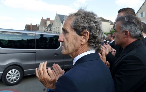 Były kierowca F1 Alain Prost