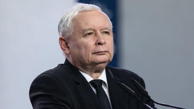 The leader of the ruling Law and Justice party Jarosław Kaczyński