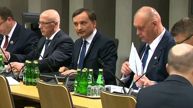 """""""Polityczna odpowiedzialność jest oczywista"""". Sejmowa komisja o odwołaniu Ziobry"""