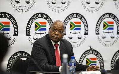 Jacob Zuma złożył zeznania w sprawie zarzutów o korupcję