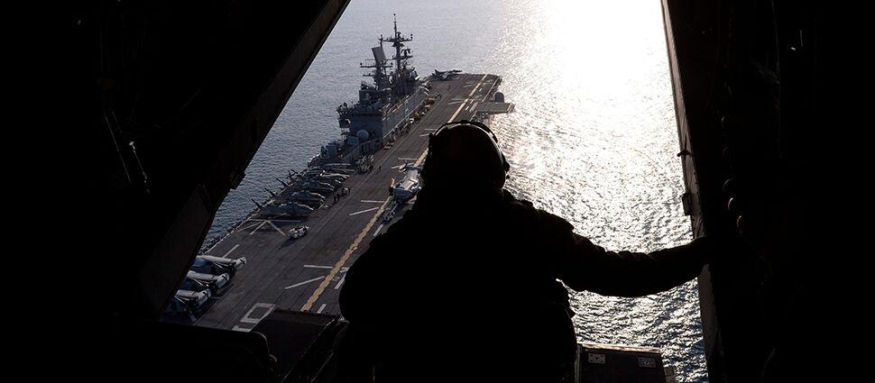 Trump: amerykański okręt strącił irańskiego drona