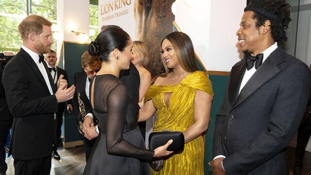 Meghan, Harry, Beyonce i Jay-Z na premierze