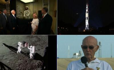 Amerykanie świętują 50. rocznicę startu rakiety Saturn V