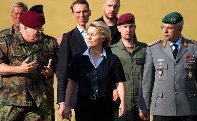 Von der Leyen: w środę zrezygnuję z funkcji ministra obrony RFN
