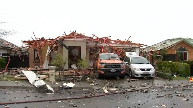 Eksplozja w nowozelandzkim Christchurch.