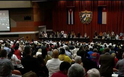 Obrady kubańskiego parlamentu
