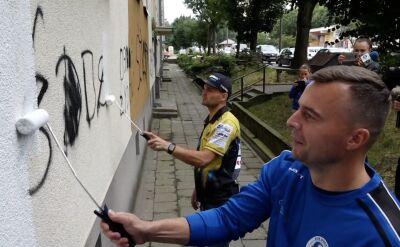 Sportowcy przeciw wandalizmowi w Gorzowie