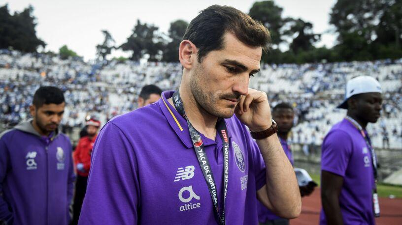 """Casillas opuszcza sezon, ale nie FC Porto. """"Spróbuję pomóc drużynie"""""""