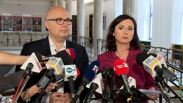 Gasiuk-Pihowicz: składamy wniosek o ponaglenie szefa Kancelarii Sejmu w sprawie ujawnienia list poparcia kandydatów do KRS