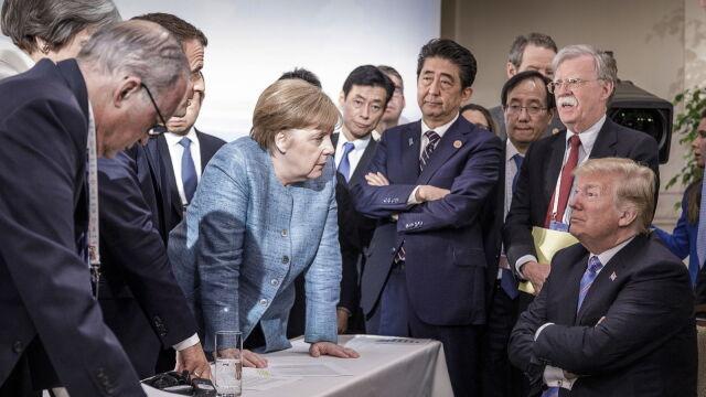 G7 czy G6+1? Zdjęcie, które  stało się symbolem szczytu