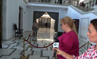 Gosiewska i Piotrowicz o braku publikacji list poparcia do KRS