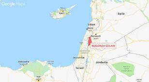 Izraelski nalot na terytorium Syrii