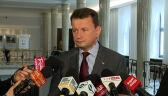 Mariusz Błaszczak broni prezydenckiego projektu ws. wieku emerytalnego