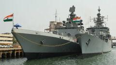 Indyjskie fregaty rakietowe INS Shivalik i INS Betwa