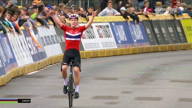 Per Strand Hagenes mistrzem świata w wyścigu ze startu wspólnego juniorów