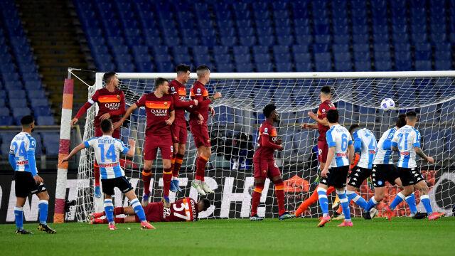 Napoli górą w hicie Serie A. Zieliński miał udział przy golu