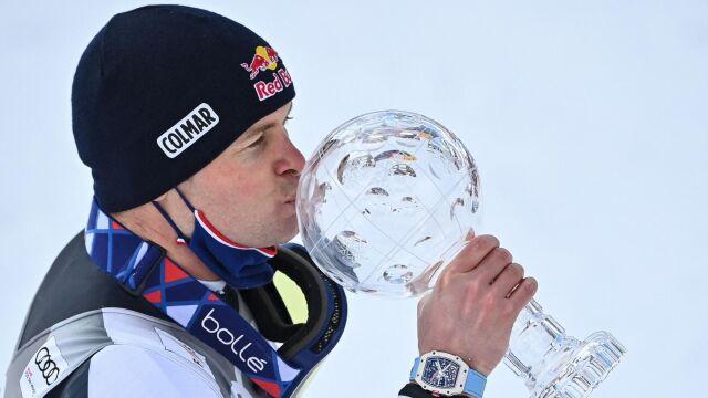 Pinturault wygrał ostatni slalom w sezonie i zdobył pierwszą Kryształową Kulę w karierze