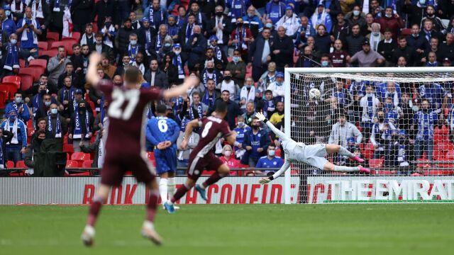 Genialny gol na wagę Pucharu Anglii. Leicester świętuje