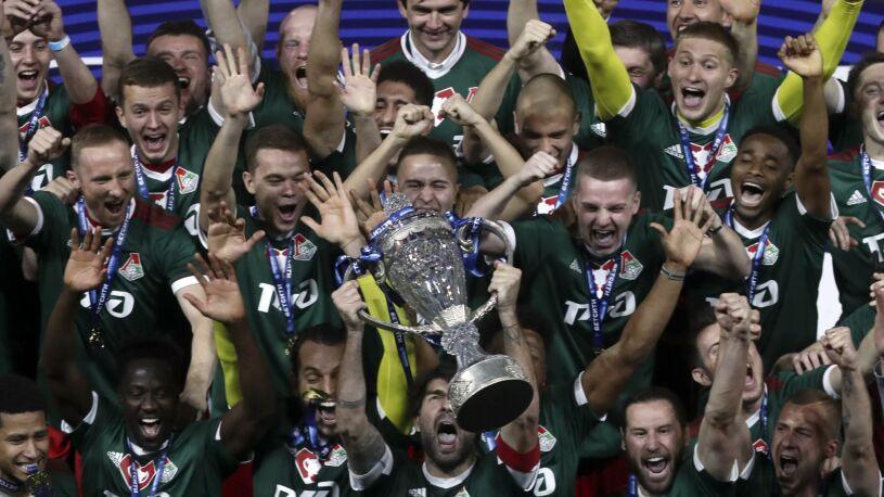 Krychowiak i Rybus świętują. Puchar Rosji dla Lokomotiwu