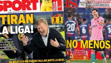 Barcelona przybita.