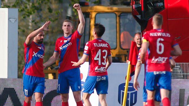 Najpierw Puchar Polski, teraz wicemistrzostwo. Raków świętuje historyczny sezon
