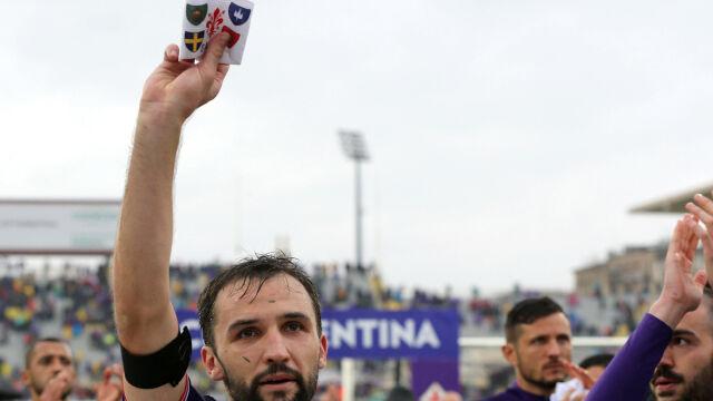 Opaska zmarłego kapitana zostanie z Fiorentiną