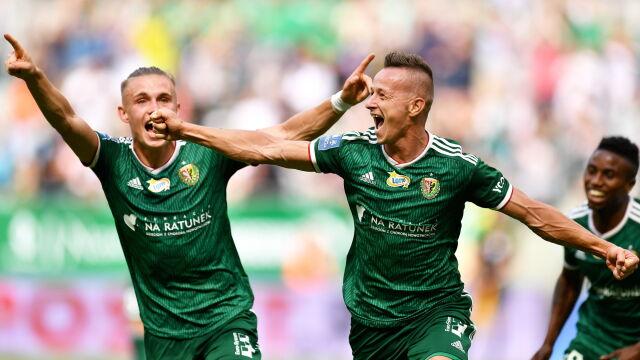 Cudowny gol w końcówce i Śląsk znów wygrywa