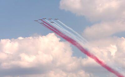 Pokaz lotniczy w Katowicach. Nagrania z ziemi