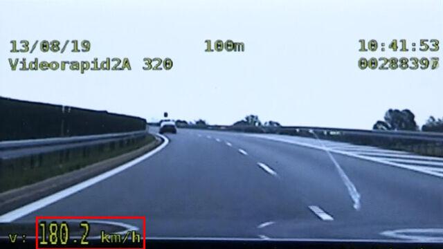 Przekroczył prędkość o 110 km/h. Nie przyjął mandatu