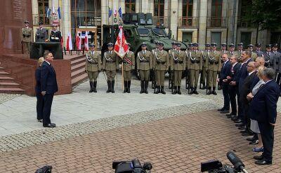 Uroczystość wręczania nominacji generalskich i odznaczeń wojskowych