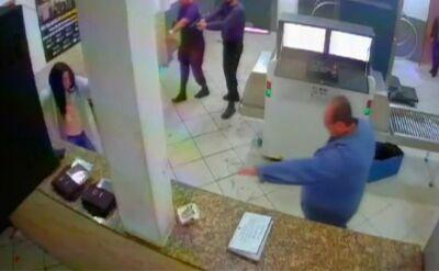 Nagranie z aresztowania Clauvino da Silvy