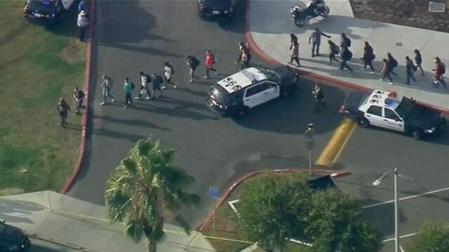 Wszedł do szkoły w Kalifornii i zaczął strzelać. Trwa obława na napastnika