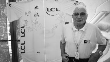 """Nie żyje legendarny Raymond Poulidor. """"Był kimś więcej niż mistrzem"""""""