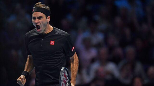 Popis Federera w Londynie. Djoković kompletnie bezradny