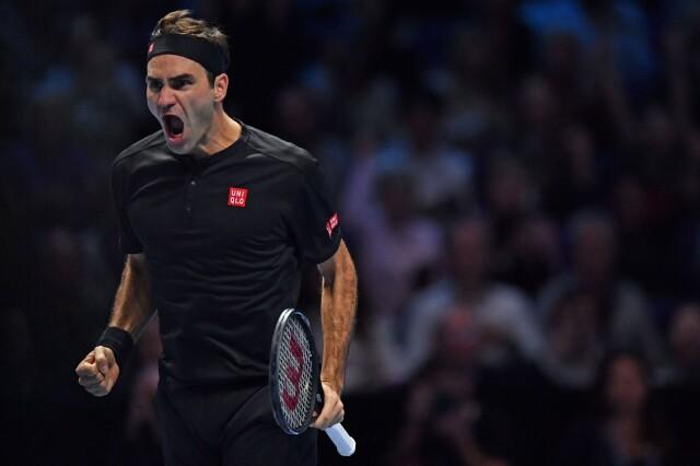 Pokaz Federera w Londynie. Djoković kompletnie bezradny