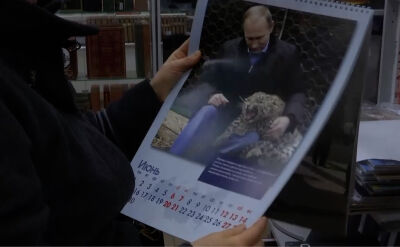 Kalendarz z Władimirem Putinem na 2020 rok