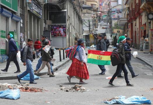 Boliwijska policja i wojsko apelują do protestujących o spokój