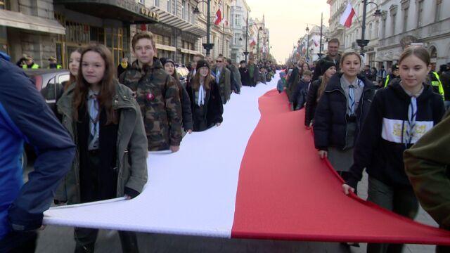 Święto Niepodległości w całym kraju. Parady w Gdańsku, Wrocławiu i Łodzi