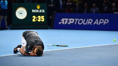 Grek królem Londynu. Debiutant wygrał ATP Finals