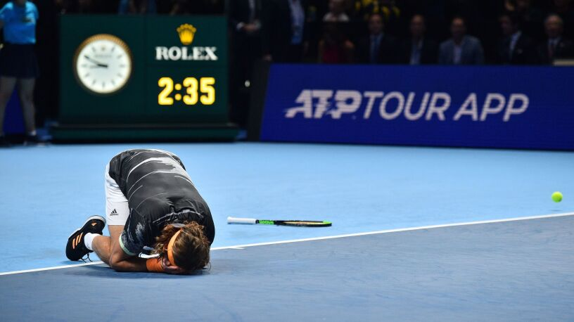 Tsitsipas królem Londynu. Debiutant wygrał ATP Finals