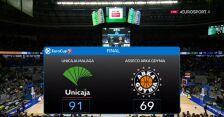 Unicaja Malaga pokonała Arkę Gdynia w 7. kolejce Pucharu Europy