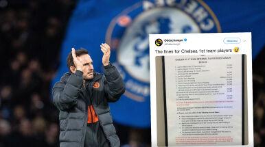 Chelsea stawia na dyscyplinę. Do sieci wyciekł taryfikator kar