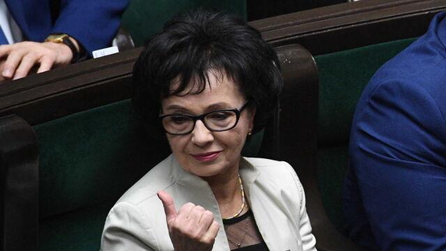 Elżbieta Witek została wybrana marszałkiem Sejmu