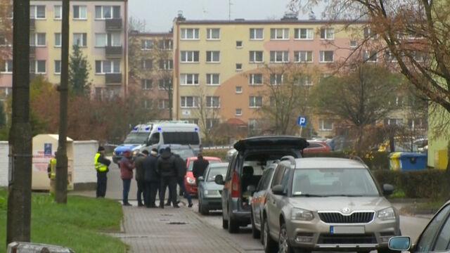 Ewakuacja w Płocku. Policja: mężczyzna chciał wykorzystać swoje mieszkanie jako