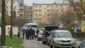 Ewakuacja bloku, przedszkola i szkoły w Płocku