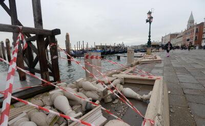 W Wenecji oczekiwana kolejna fala przypływu