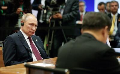 Putin chciałby spotkać się z Trumpem w Moskwie