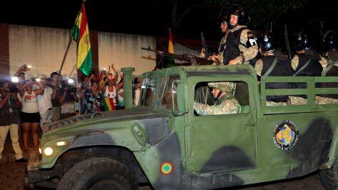 """""""Wydarzenia w Boliwii to silny sygnał dla nielegalnych reżimów w Wenezueli i Nikaragui"""""""